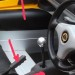 Gear stick Tunnel cover piece and handbrake handle